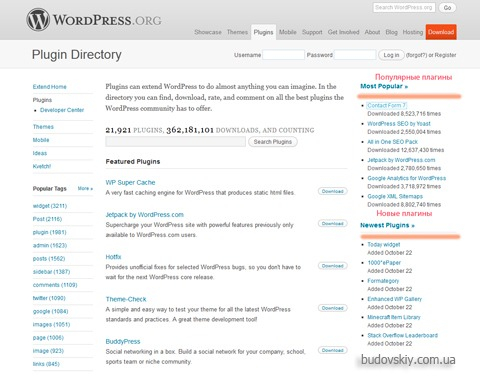 Плагины Worpdress| WordPress plugins